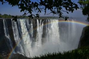 The magnificent Victoria Falls