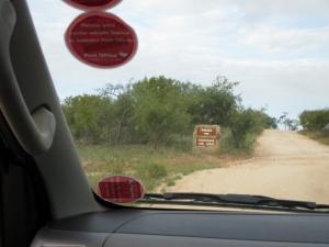 Approaching Tremisana Lodge