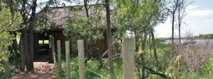 Entrance to Pilanesberg hide