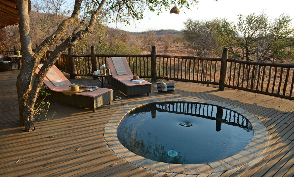 Splash pool Madikwe lodge