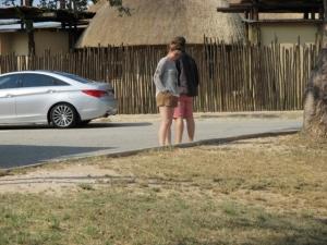 Orpen gate area in Kruger