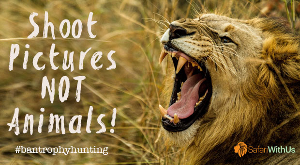 Shoot Pictures, Not Animals - Ban Trophy Hunting