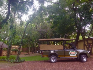 Kruger Adventure Lodge open game viewer vehicle