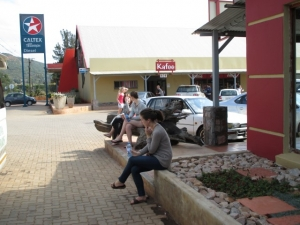 Pistop en route to Kruger