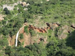Waterfall en route to Kruger