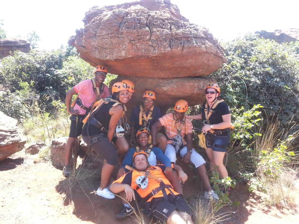 Group Ziplining Cullinan